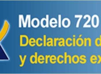 Presentación del Modelo 720 ante la Agencia Tributaria