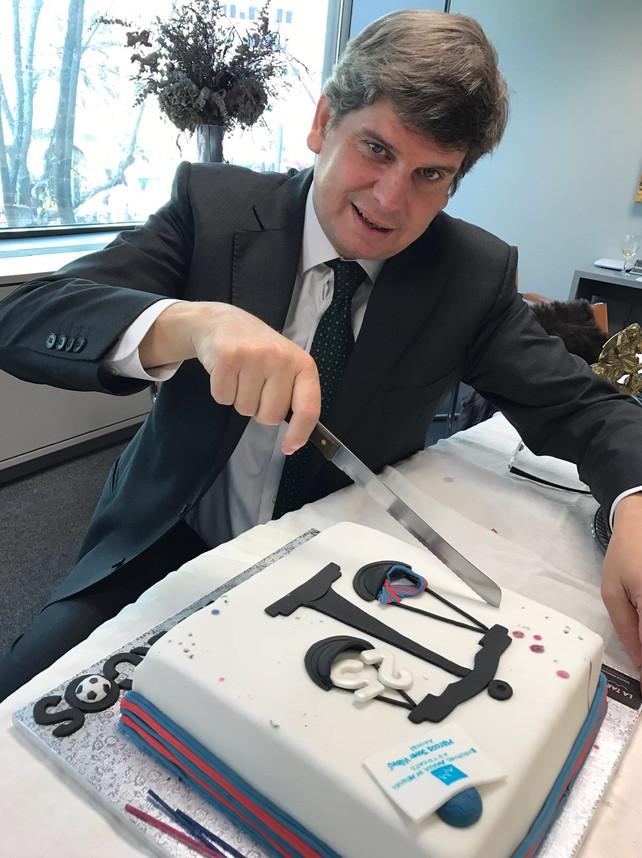 25é aniversari de professió del nostre sòci Marcos Jover | Euroforo ...