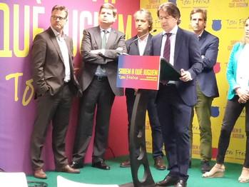 MARCOS JOVER en las elecciones del Barça