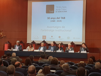 Actes del 30é aniversari del TAB