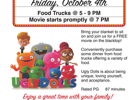 Fred Family Movie Night October 4th