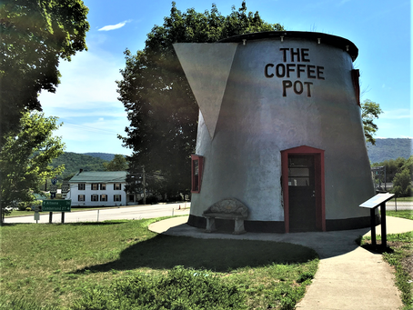 A Coffee Pot for Giants | Pennsylvania Roadside Attraction