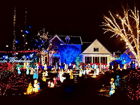 The Most Spectacular Christmas Light Display in Montgomery County, MD