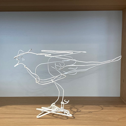 Bergeronnette en fil de fer blanc