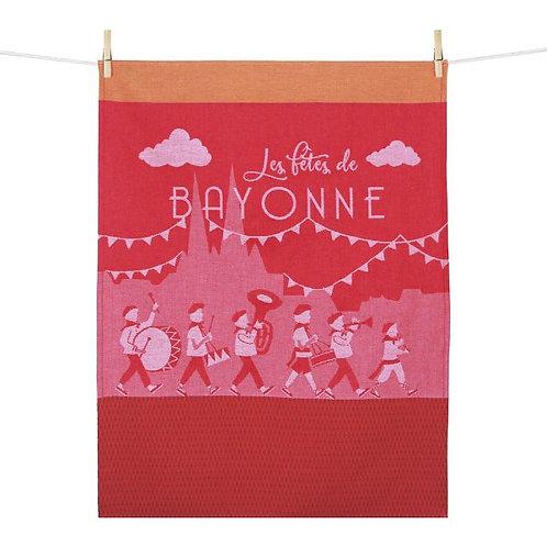 Torchon Fêtes de Bayonne