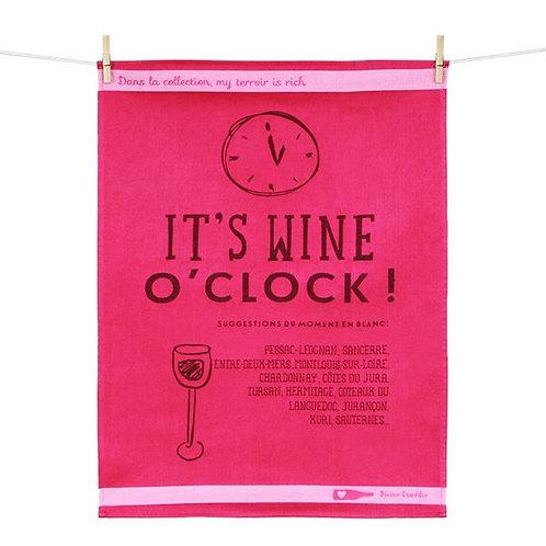 Torchon It's wine O' clock !