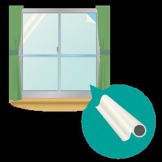 窓のフィルム