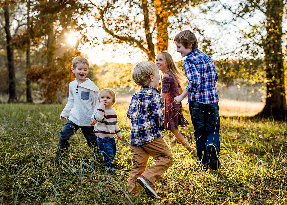 Greenville, SC field family photography kids clickin moms