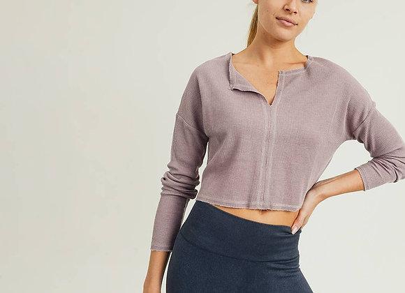 Deep Notch Pullover