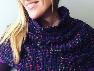 The perfect winter neck warming Parkwood Cowl by MIY collection
