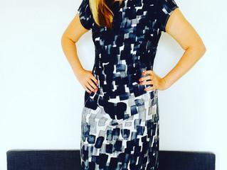 The Ikea fabric formal shift dress
