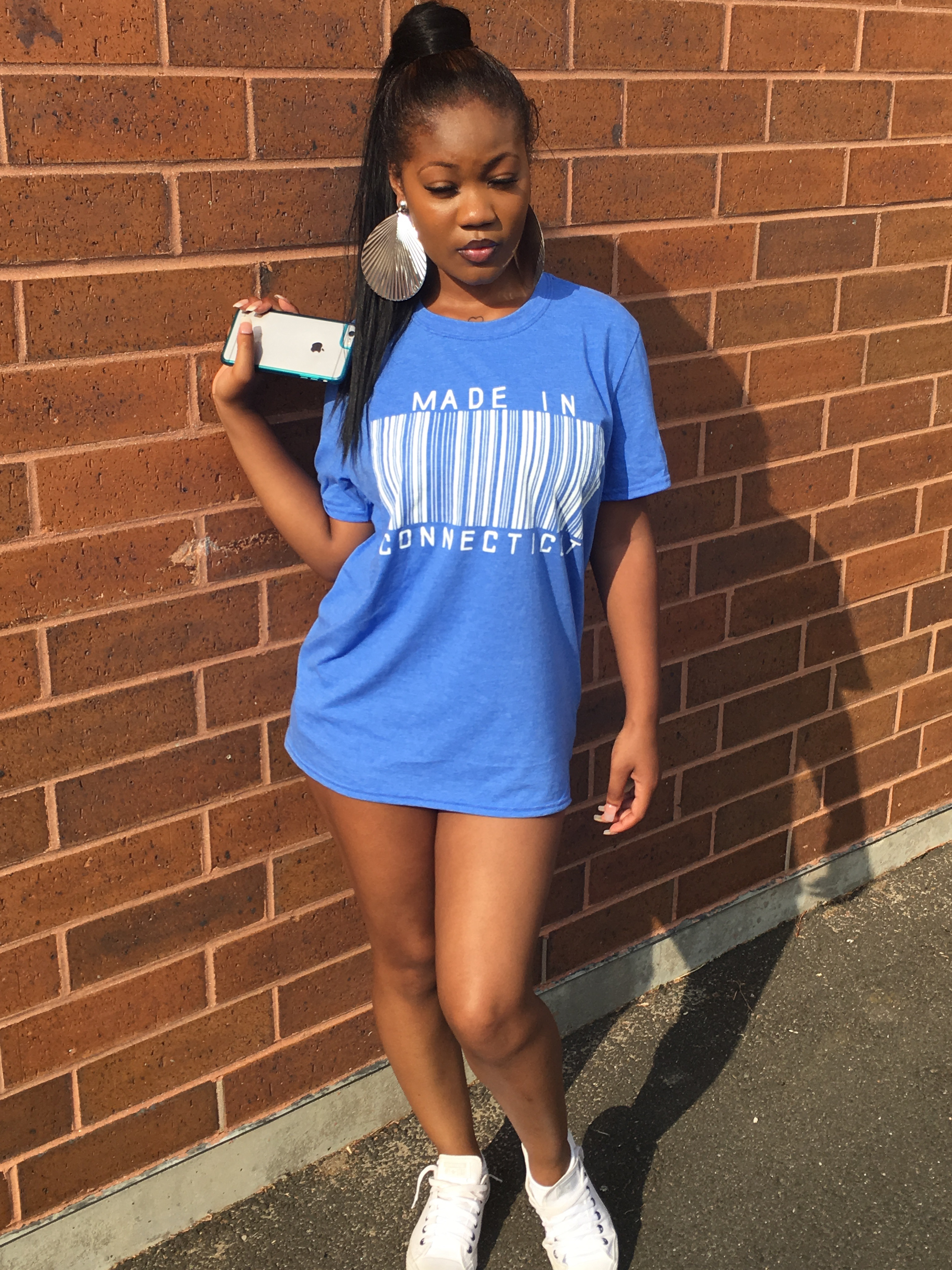 Made In brand Blue t-shirt