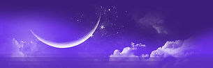 Sylvie Chaud Ciel étoilés violet