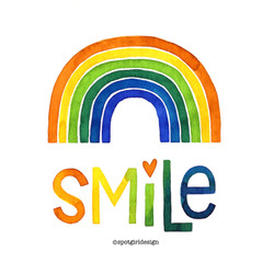 Smile with tag