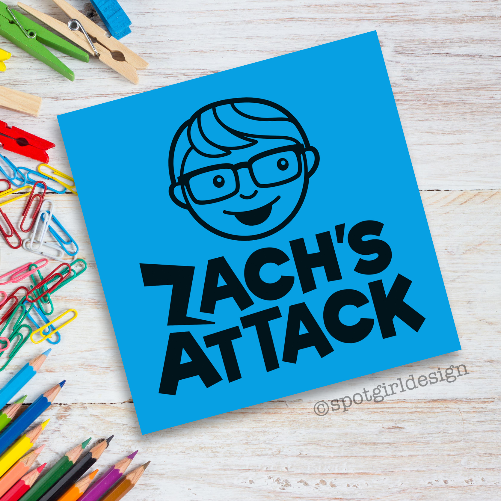 Zach's Attack Logo