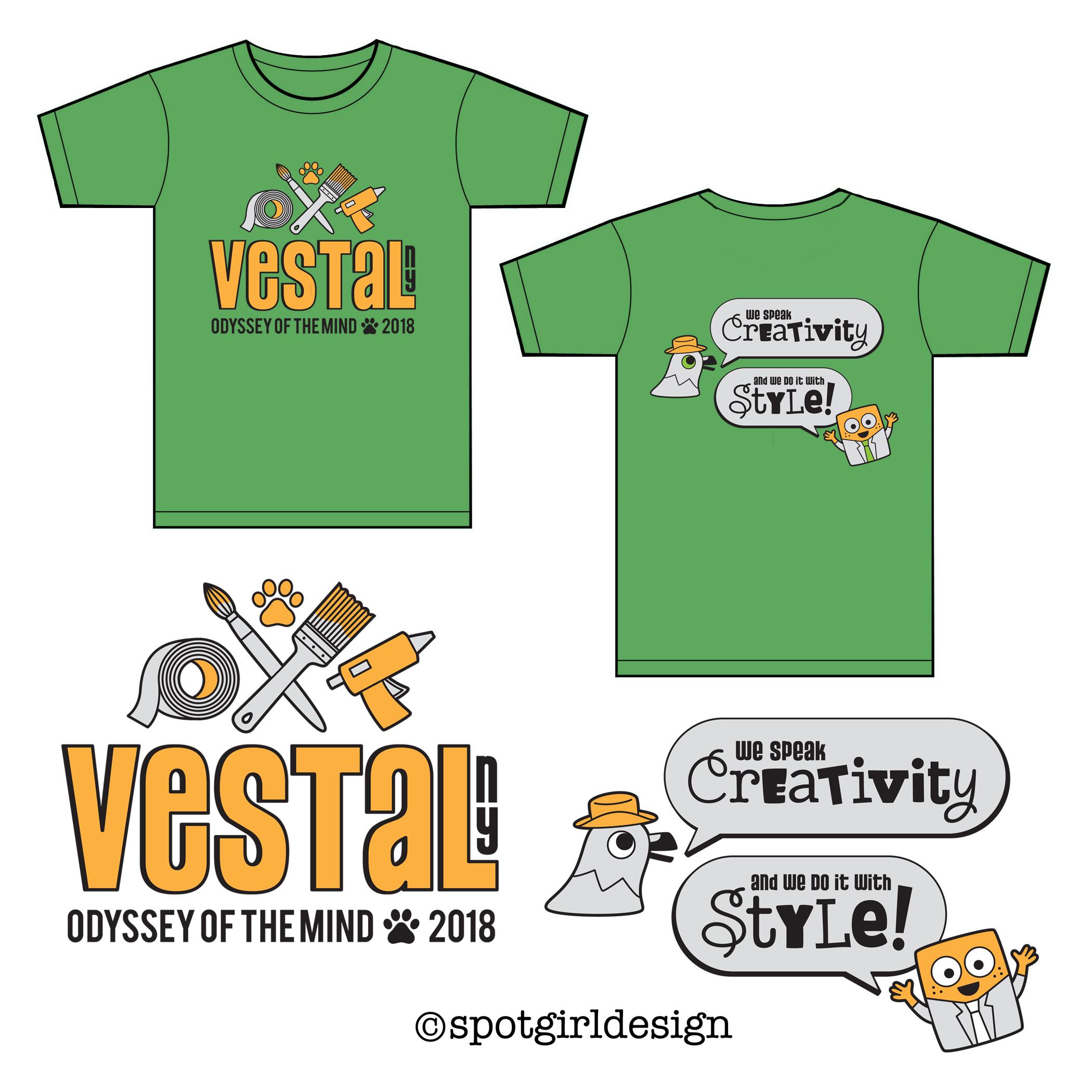 Vestal OM Shirts 2018