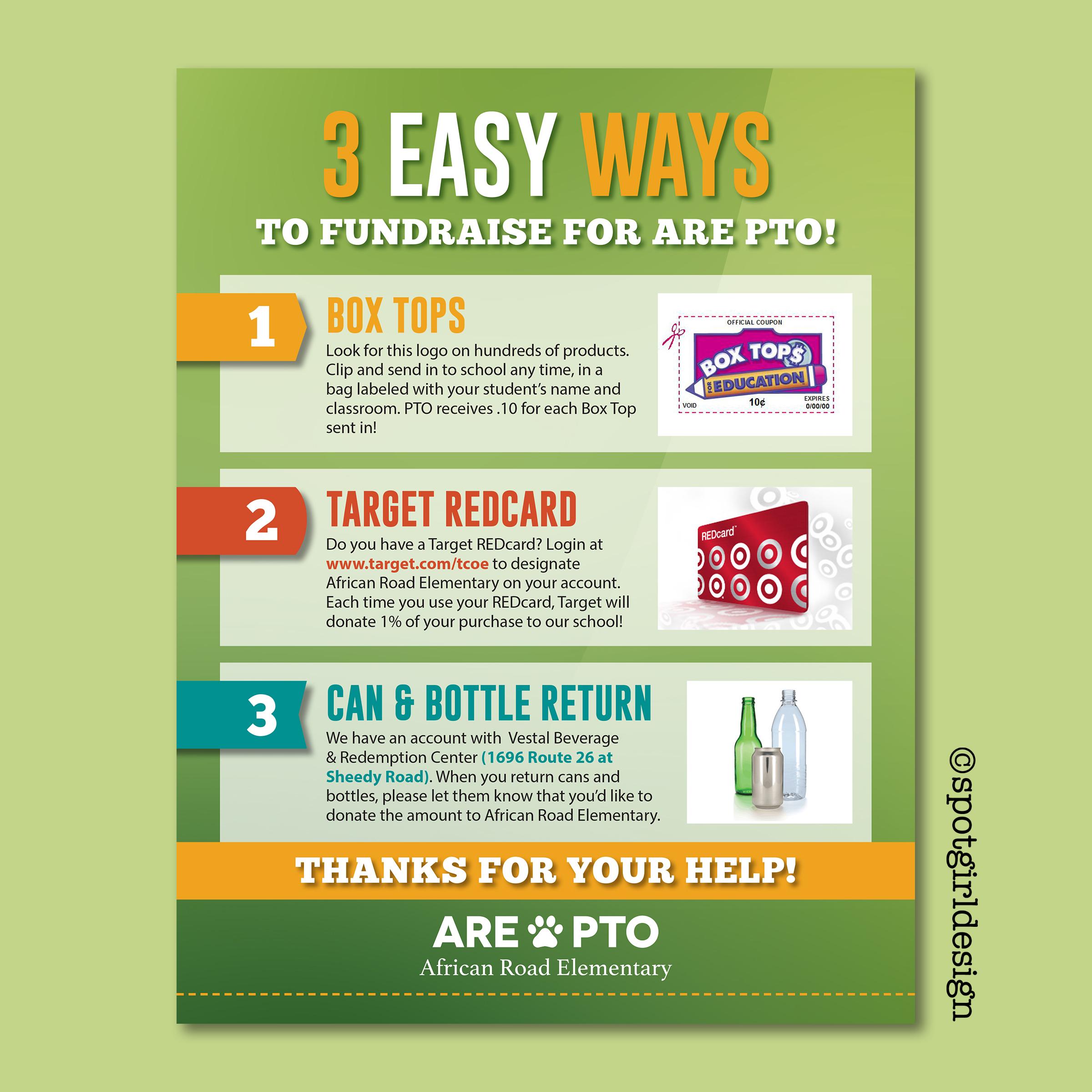 PTO FundraisingFlyer