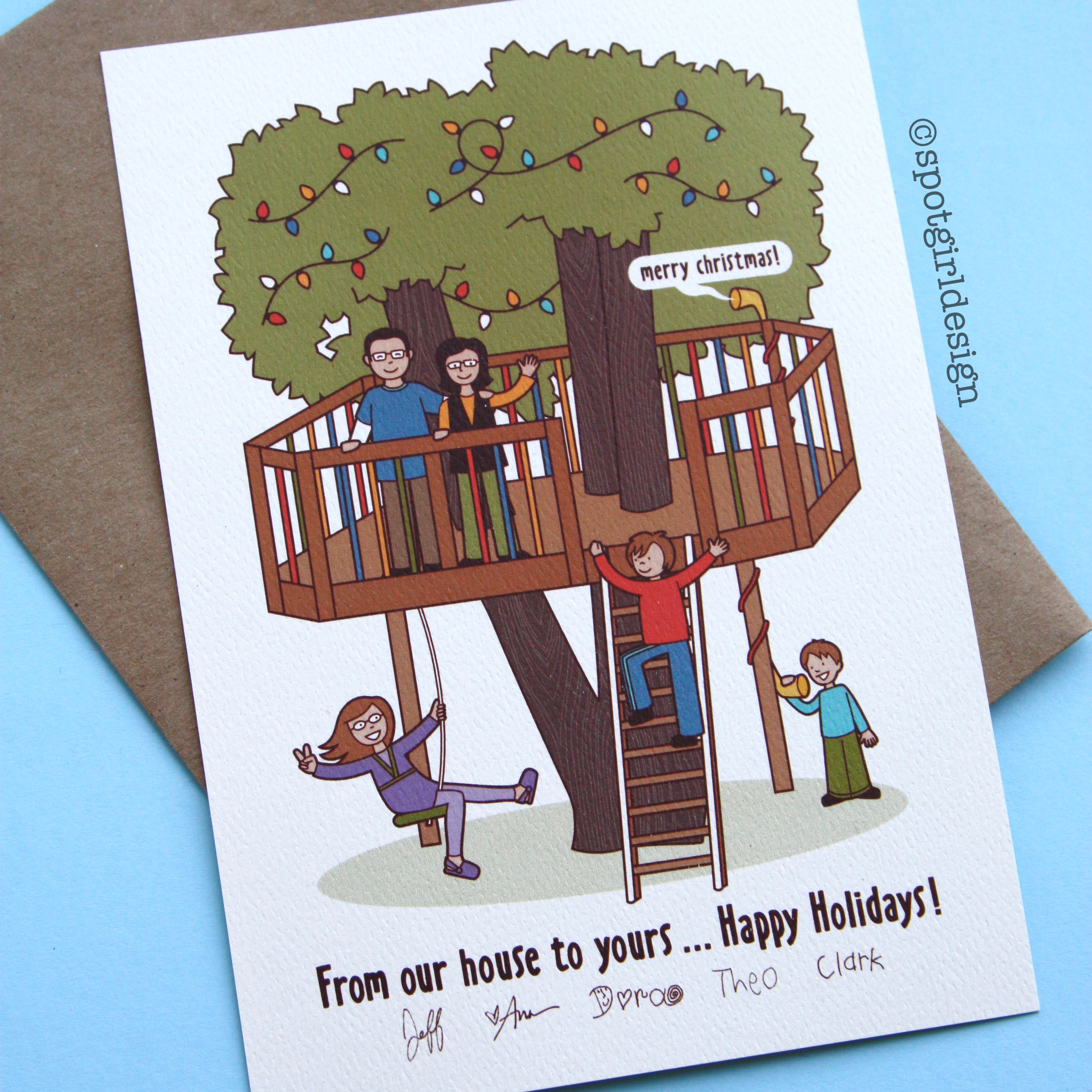 Treehouse Card