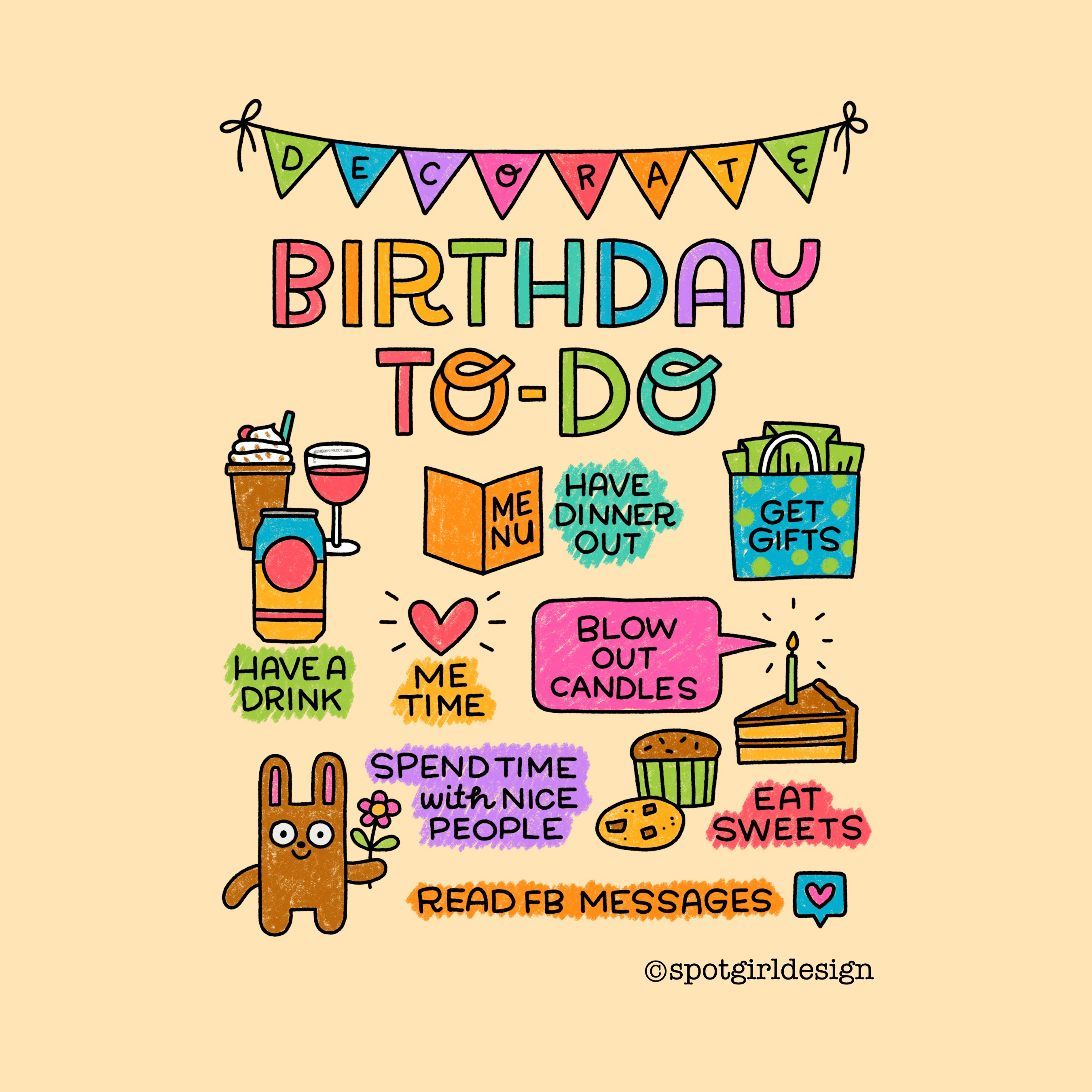 Birthday To-Do_tag