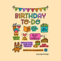 Birthday To-Do_tag