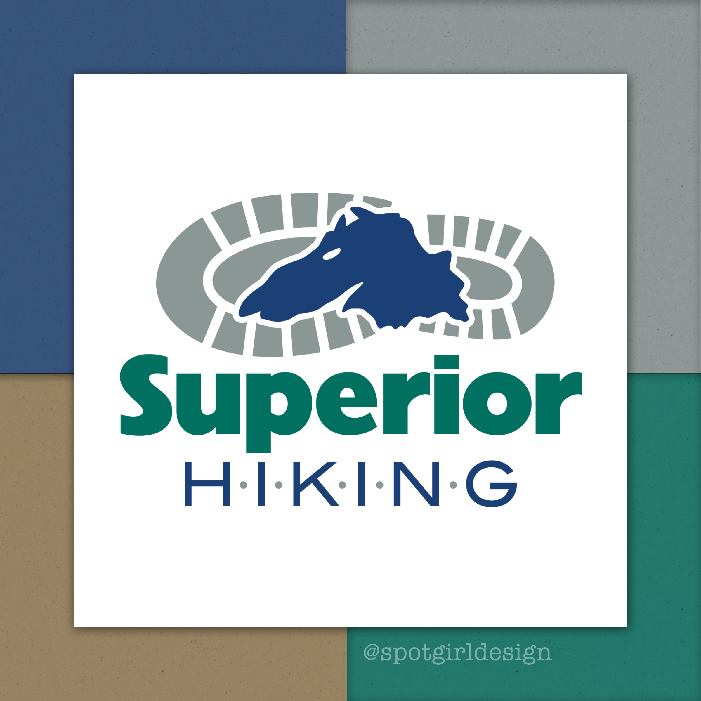 Superior Hiking Logo