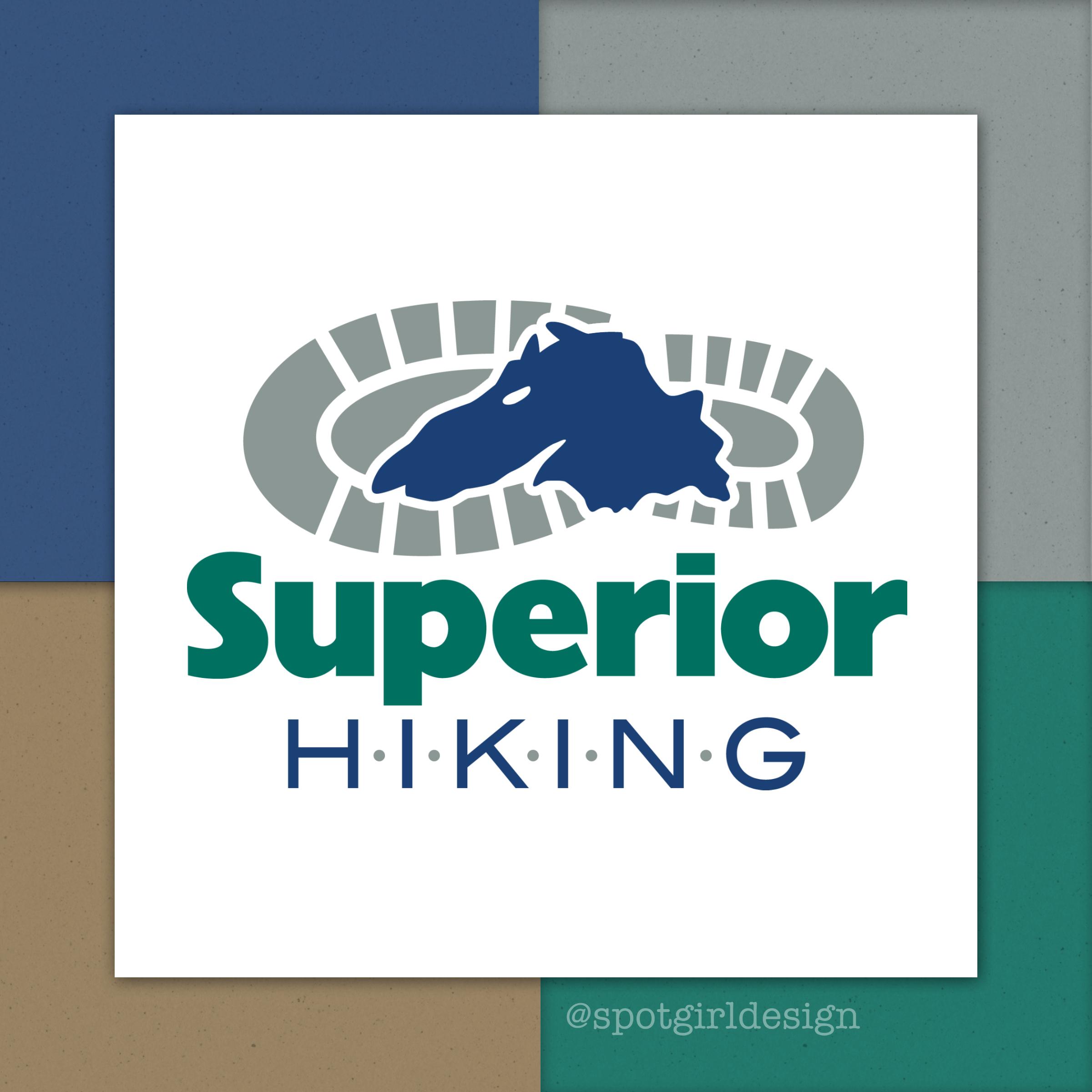 Superior Hiking Logo