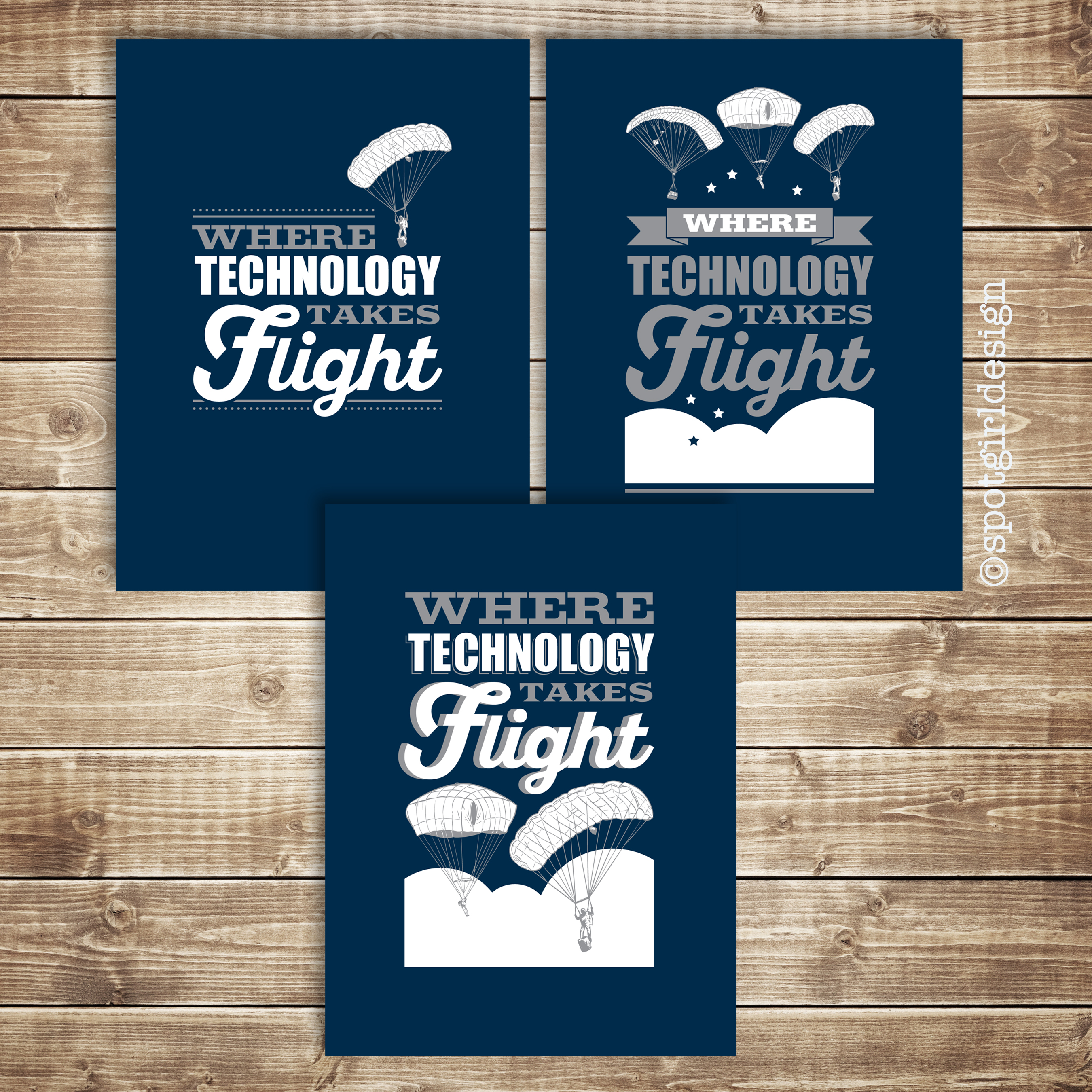 Airborne Shirt Designs