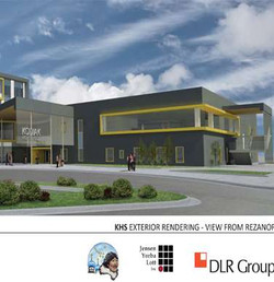KIBSD, Kodiak H.S. Exterior Concept Plan