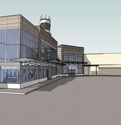 CBJ Juneau International Airport, Exterior Concept Plan