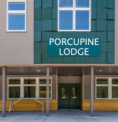 Porcupine Lodge, Eaglecrest Learning Center, Juneau Alaska