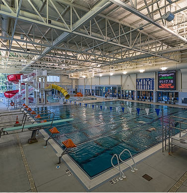 CBJ DPAC Pool, Aquatic Center, Juneau Alaska