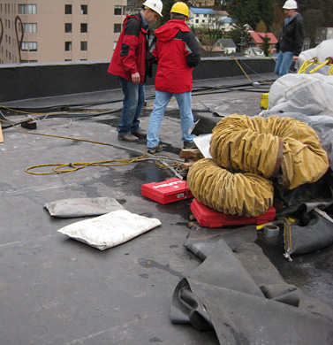 Roof Investigation, Construction Administration