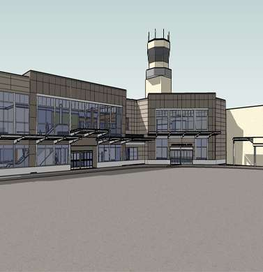 CBJ Juneau International Airport, Exterior Concept Plan