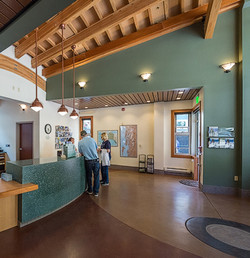 CBJ Visitor Center, Juneau Alaska