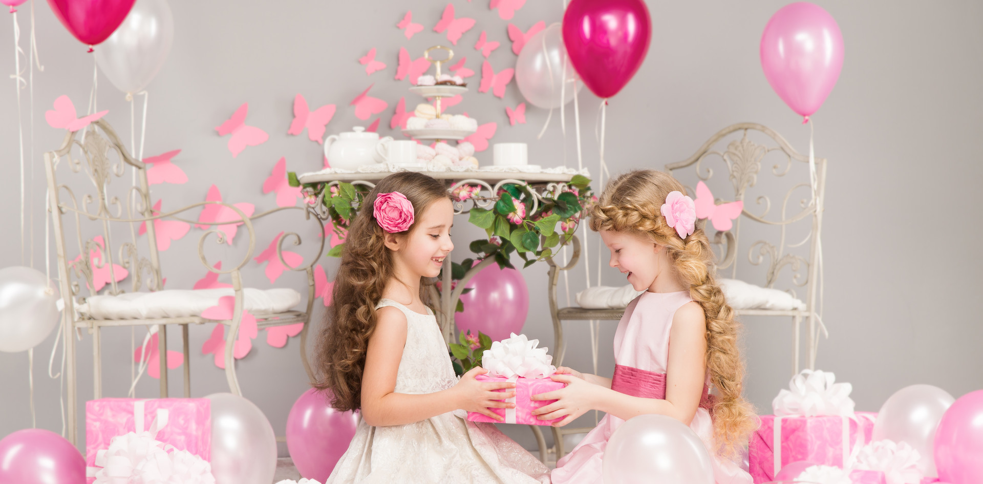 Canva - Children Birthday Party, Girl Gi