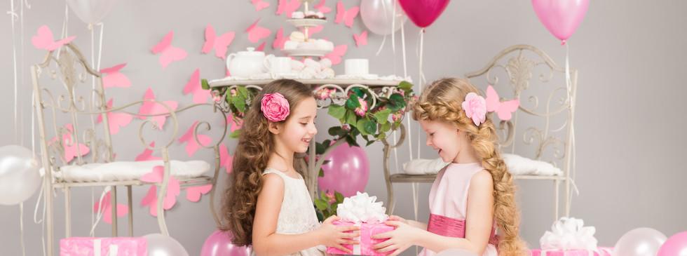 Canva - Children Birthday Party, Girl Gi