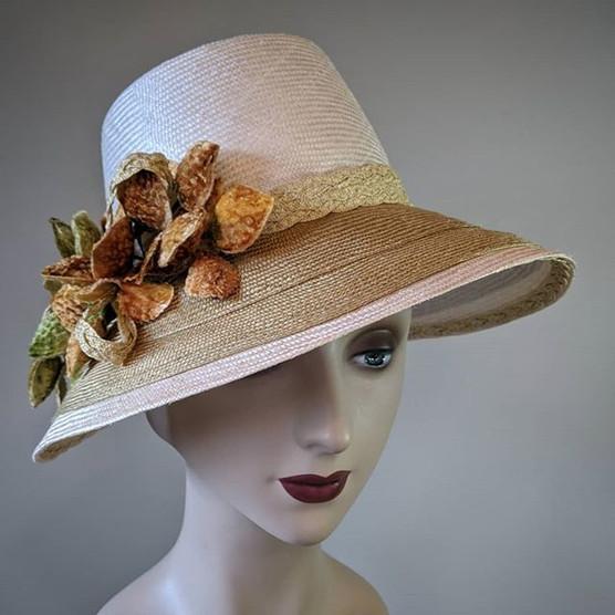 Spring Bonnet - double brim parisisol st