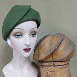 Shell Beret & Hat Block