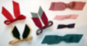 Ribbon bow style - learn to make