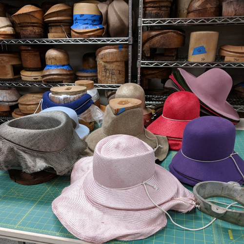 Felt & Straw Hat Shapes