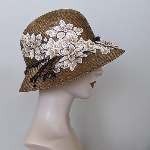 Flower Waltz Cloche