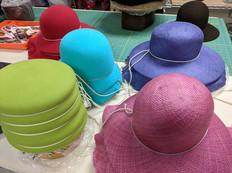 Blocked Felt & Straw Hats