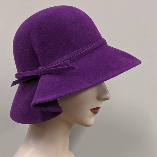 Pleat Cloche