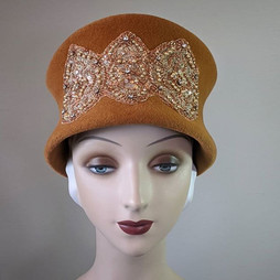 Butterscotch Cloche