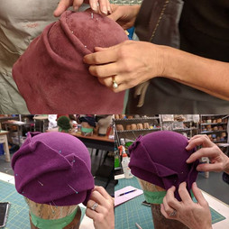Freeform Felt Hat Class with Tina Guinti