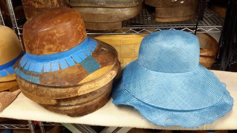 Blocked Straw Hat