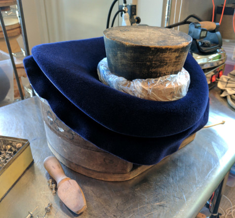 Blocked Felt Hat