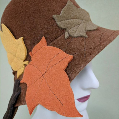 Quilted Leaf Cloche