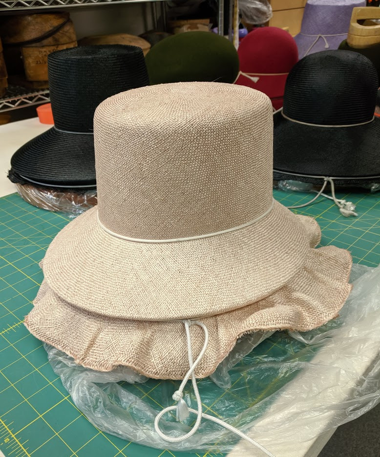 Victortian Inspired Straw Hat