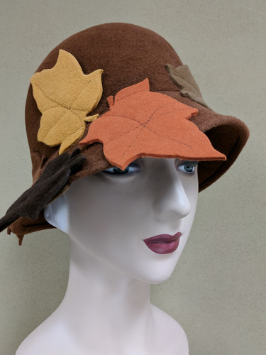 Quilted Leaf Cloche - Wayne Wichern
